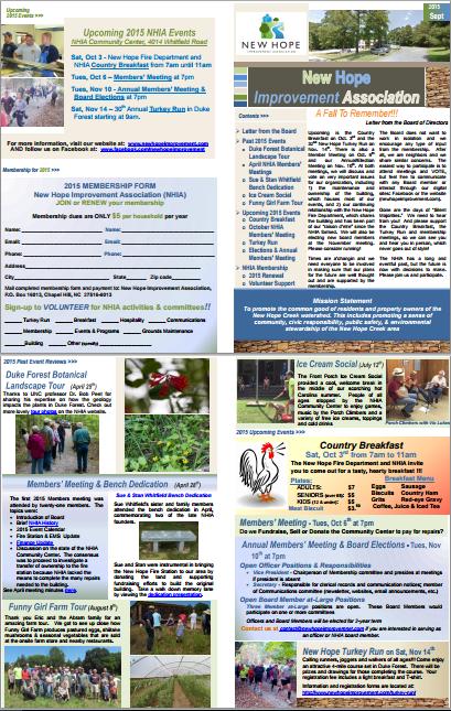 2015-09 Sept Newsletter